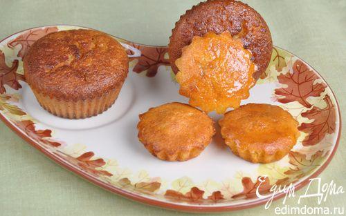 Рецепт Морковно-апельсиновые кексы