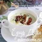 Сырный суп с грудинкой