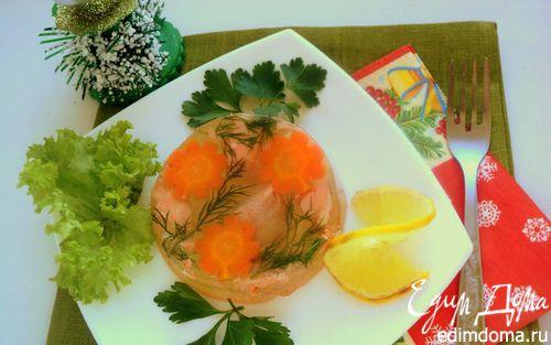 Рецепт Заливное из семги