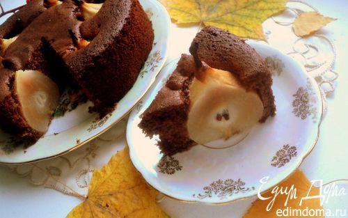 Рецепт Пирог «Груша в шоколаде»