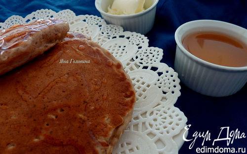 Рецепт Овсяные оладьи с корицей