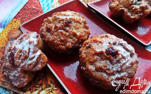 Рецепт Кексы из печенья с вяленой клюквой