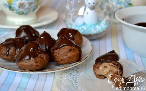 Рецепт Шоколадные профитроли