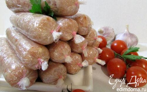 Рецепт Куриные сосиски