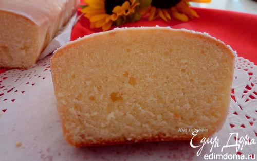 Рецепт Лимоный кекс в лимонной глазури