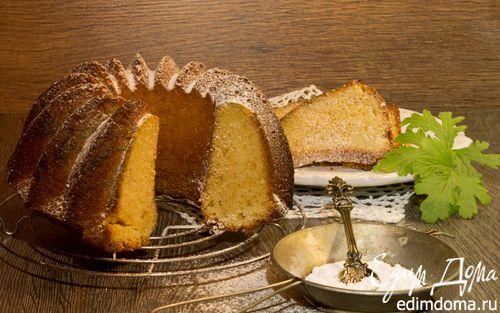 Рецепт Греческий масляный кекс с ароматом герани