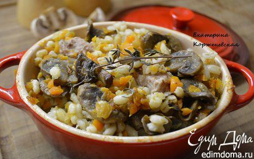 Курица грибы помидоры картошка в духовке рецепт