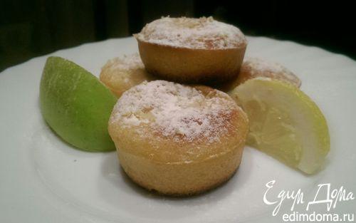 Рецепт Лимонные кексики с сюрпризом