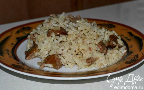 Рецепт Рис с куриной печенью