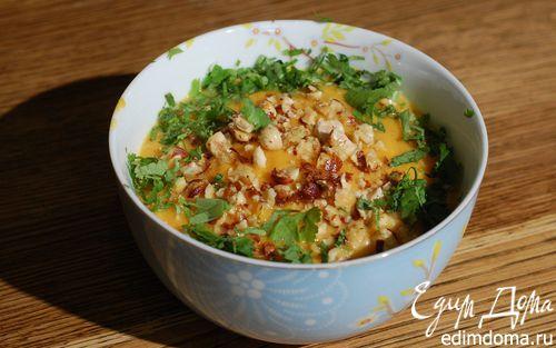 Рецепт Тыквенный хумус с фундуком