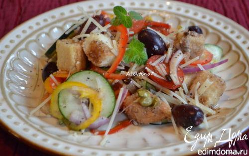 Рецепт Тосканский салат «Панцанелла»