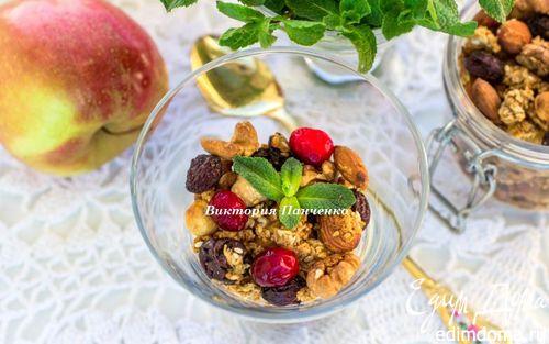 Рецепт Яблочная гранола