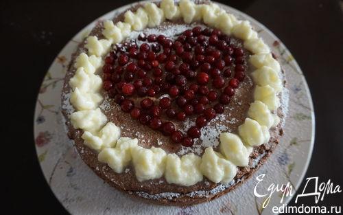 Рецепт Торт с шоколадно-апельсиновым муссом