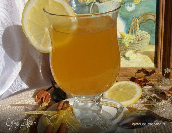 Фруктовый чай с чабрецом и пряностями