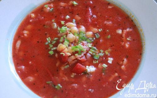 Рецепт Суп томатный с нутом