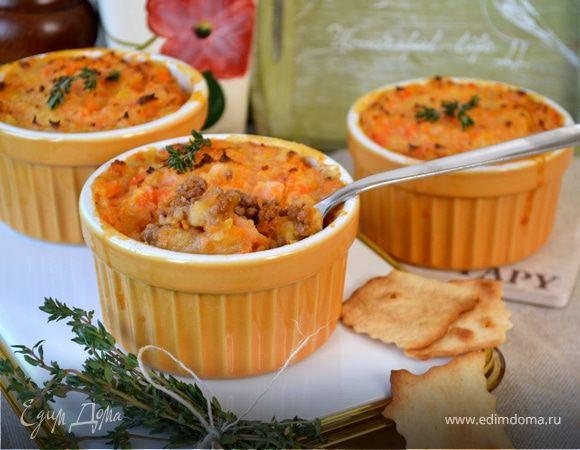 Запеканка Пармантье с морковью (Hachis parmentier)