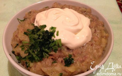 Рецепт Картофельный крем-суп с шампиньонами