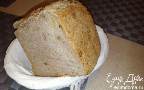 Рецепт Ржаной хлеб с кориандром и орехами в хлебопечке