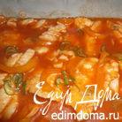 Филе хека в томатном соусе