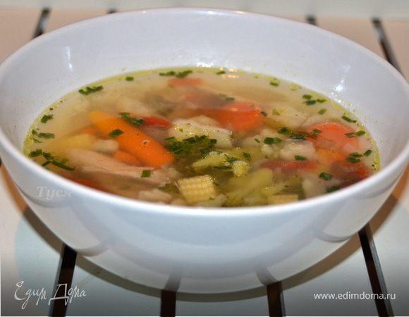 весенний суп рецепт с фото
