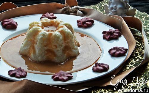 Рецепт Рисовый пудинг под карамельным соусом
