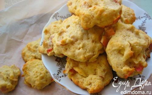Рецепт Карамельно-яблочное печенье