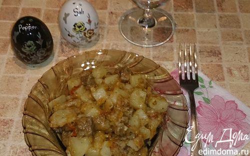 Рецепт Жаркое из конины в духовке