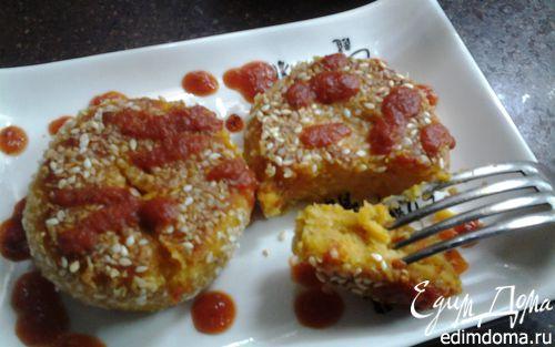 Рецепт – Чечевичные котлетки с овощами и нутовой мукой