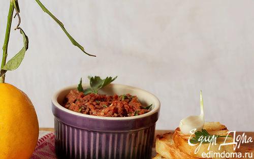 Рецепт Паштет из вяленых томатов и белой фасоли