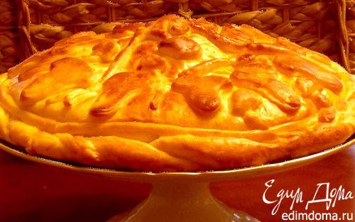 Рецепт Пирог с грибами и квашеной капустой