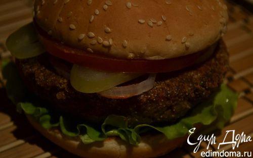 Рецепт Бургер с гречневой котлетой