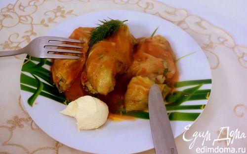 Рецепт Голубцы с картофелем и грибами
