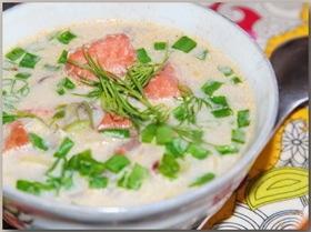 Легкий луково-рыбный суп