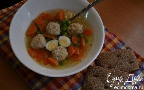 Рецепт Весенний прозрачный суп