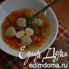 Весенний прозрачный суп