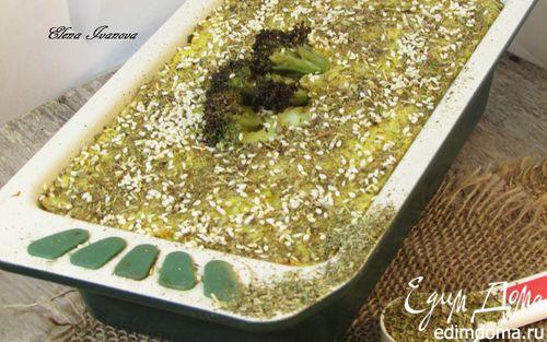 Рецепт Запеканка из картофеля и цветной капусты с прованскими травами и кунжутом