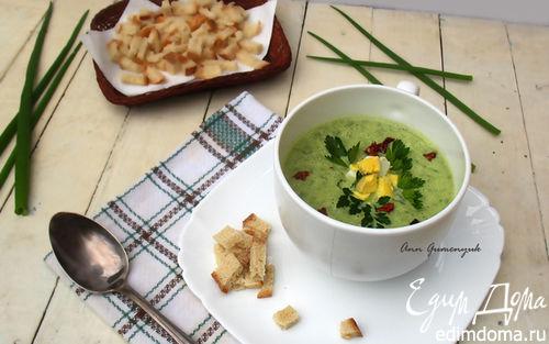 Рецепт Весенний суп из зеленного лука