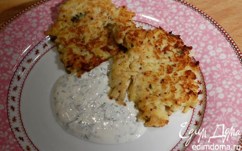 Рецепт Оладушки из сельдерея и картофеля