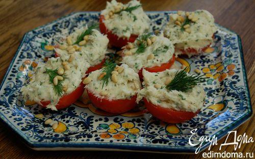 Рецепт Помидоры, фаршированные треской и картофелем