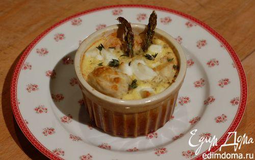 Рецепт Тарталетки со спаржей, розмарином и сыром