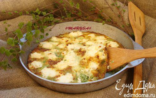 Рецепт Фриттата с зеленым песто от Джейми Оливера