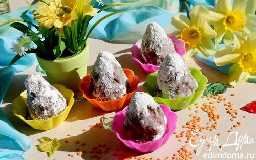 Рецепт Полезные конфеты из чечевицы