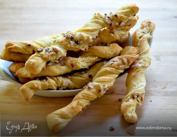 Масляные ореховые палочки