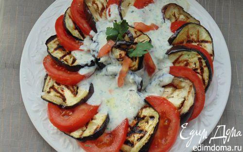 Рецепт Кольцо из летних овощей