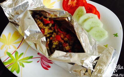 Рецепт Рыба в конверте с овощами