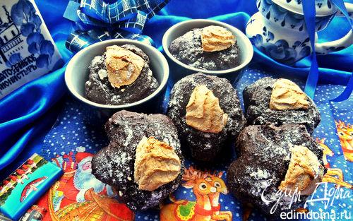 Рецепт Кексы шоколадные на гречневой муке