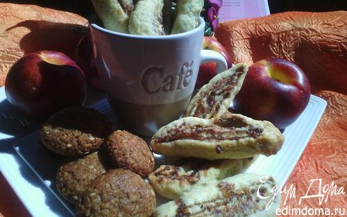 Рецепт Песочное печенье с финиками