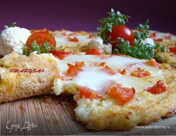 Мини-пиццы из цветной капусты