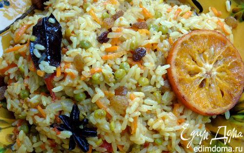 Рецепт Индийский овощной пряный плов