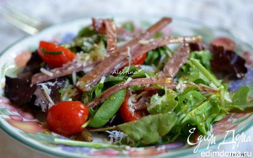 Рецепт Салат с салями